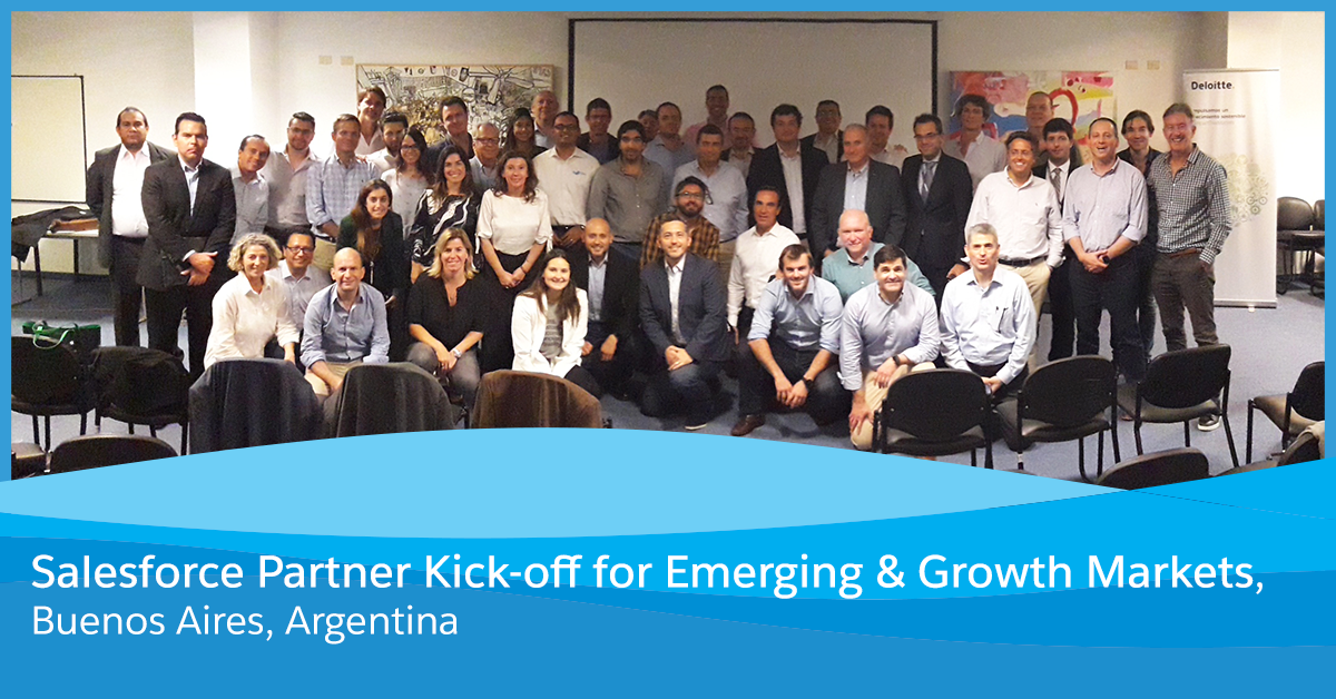 Salesforce Partner Kick-off for Emerging & Growth Markets in Buenos Aires, Argentina
